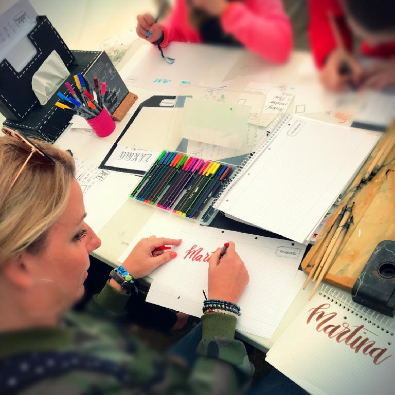 workshop krasopsaní